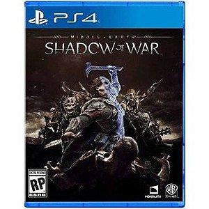 Terra Média Sombras Da Guerra – PS4