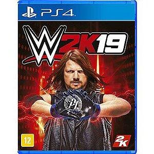 WWE 2K19 Seminovo – PS4