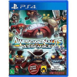 Awesomenauts Assemble! Seminovo – PS4
