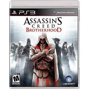 Assassin's Creed Brotherhood Seminovo – PS3