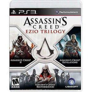 Assassins Creed Ezio Trilogy Seminovo – PS3