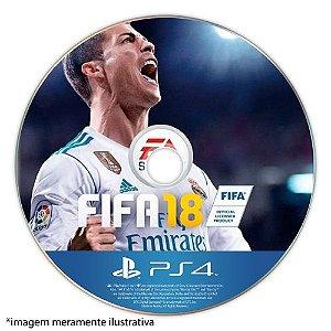 FIFA 18 Seminovo (SEM CAPA) – PS4