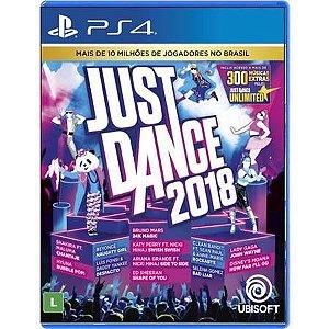 Just Dance 2018 Seminovo – PS4