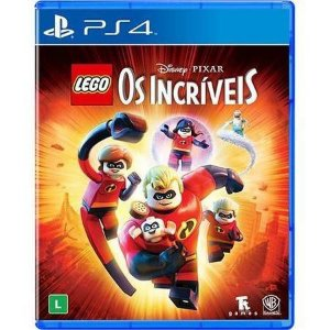 Lego Os Incríveis Seminovo- PS4