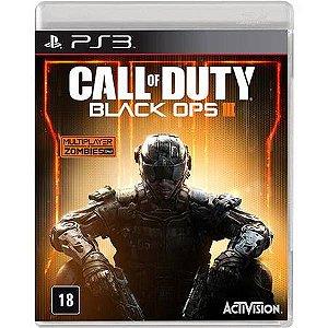Call Of Duty Black Ops 3 Seminovo – PS3