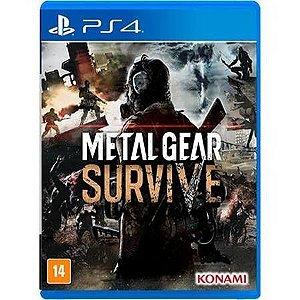 Metal Gear Survive Seminovo – PS4