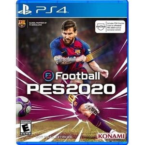 PES Pro Evolution Soccer 2020 Seminovo – PS4