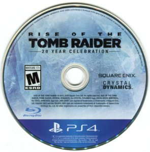 Rise Of The Tomb Raider Seminovo Sem Capa – PS4