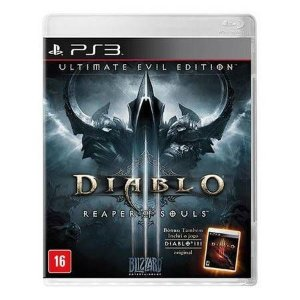 Diablo 3 Ultimate Evil Edition Seminovo – PS3