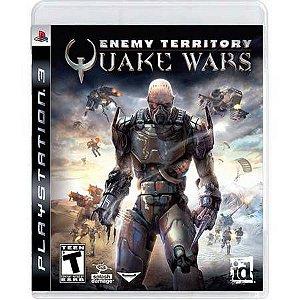 Enemy Territory Quake Wars Seminovo – PS3