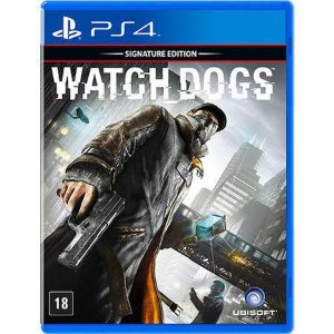 Watch Dogs Seminovo – PS4