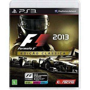 Formula 1 F1 2013 Seminovo – PS3