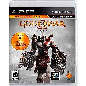God of War Saga Seminovo – PS3