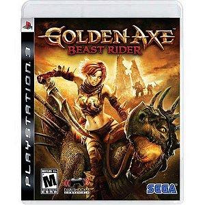 Golden Axe Beast Rider Seminovo – PS3