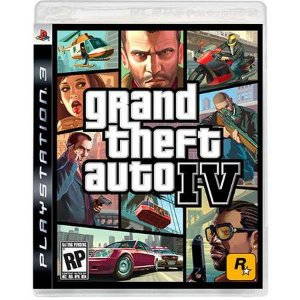 Grand Theft Auto GTA IV Seminovo – PS3