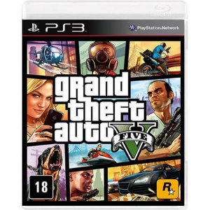 Grand Theft Auto GTA V Seminovo – PS3