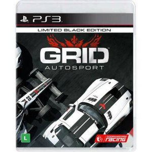 Grid Autosport Black Edition Seminovo – PS3