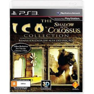 Ico & Shadow of The Colossus Seminovo – PS3