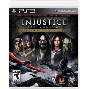 Injustice God Among Us Ultimate Edition Seminovo – PS3