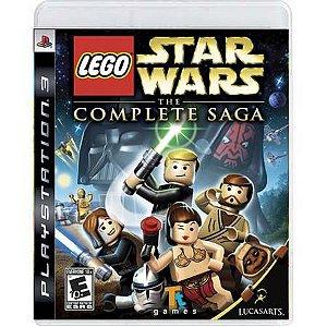 Lego Star Wars The Complete Saga Seminovo – PS3