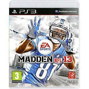Madden NFL 13 Seminovo – PS3