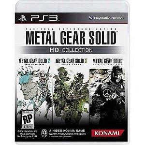 Metal Gear Solid Hd Collection Seminovo – PS3