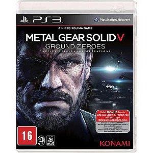 Metal Gear Solid V: Ground Zeroes Seminovo – PS3