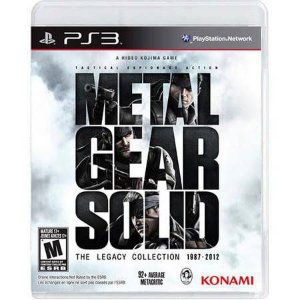 Metal Gear Solid: The Legacy Collection + Artbook Seminovo – PS3