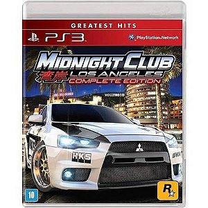 Midnight Club Los Angeles: Complete Edition Seminovo – PS3