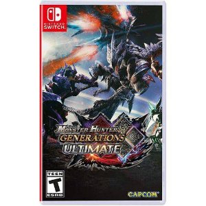 Monster Hunter Generations Ultimate Seminovo – Nintendo Switch