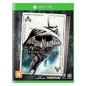 Batman Return To Arkham Seminovo – Xbox One