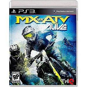 MX VS. ATV Alive Seminovo – PS3