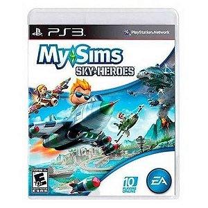My Sims Sky Heroes Seminovo – PS3
