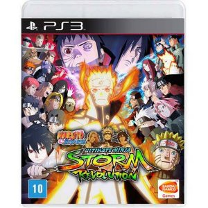 Naruto Shippuden Ultimate N Storm Revolution Seminovo – PS3