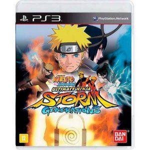Naruto Shippuden: Ultimate Ninja Storm Generations Seminovo – PS3