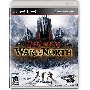 O Senhor dos Anéis: Guerra no Norte Seminovo – PS3