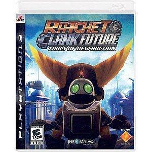 Ratchet & Clank Future Tools Of Destruction Seminovo – PS3