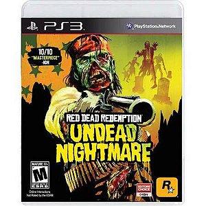 Red Dead Redemption Undead Nightmare Seminovo – PS3