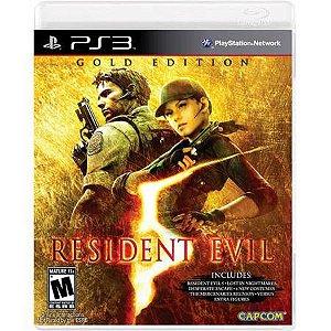 Resident Evil 5 Gold Edition Seminovo – PS3