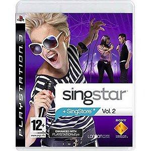 SingStar Vol. 2 Seminovo – PS3