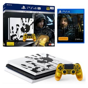 Console Playstation 4 Pro 1TB 4k Edição Limitada Death Stranding Seminovo – PS4