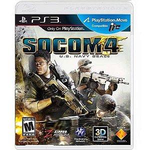 Socom 4 U.S. Navy Seals Seminovo – PS3
