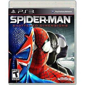 Spider-Man Shattered Dimensions Seminovo – PS3