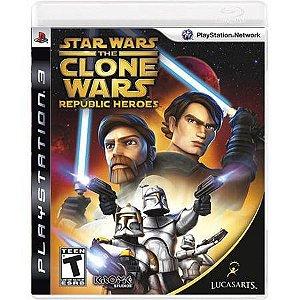 Star Wars The Clone Wars: Republic Heroes Seminovo – PS3