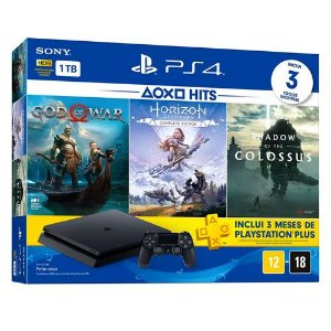 Console Playstation 4 Slim 1TB Bundle Hits