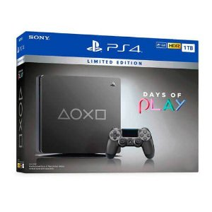 Console Playstation 4 Slim 1TB Limited Edition Days of Play