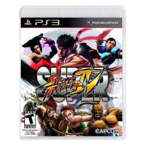 Super Street Fighter IV Seminovo – PS3