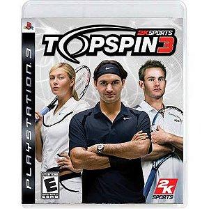 Top Spin 3 Seminovo – PS3