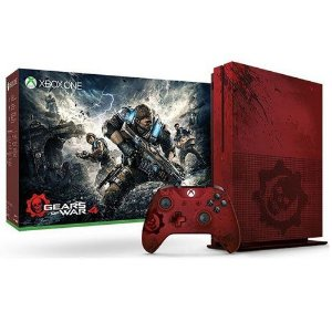 Console Xbox One S Gears of War 4 Limited Edition 2TB Seminovo