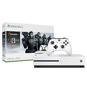 Console Xbox One S 1TB Com Gears 5
